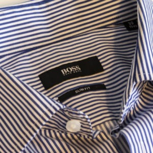 The formal shirt after OnXOn Gall Soap treatment