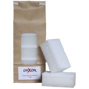OnXOn Cleaning Sponge in the package